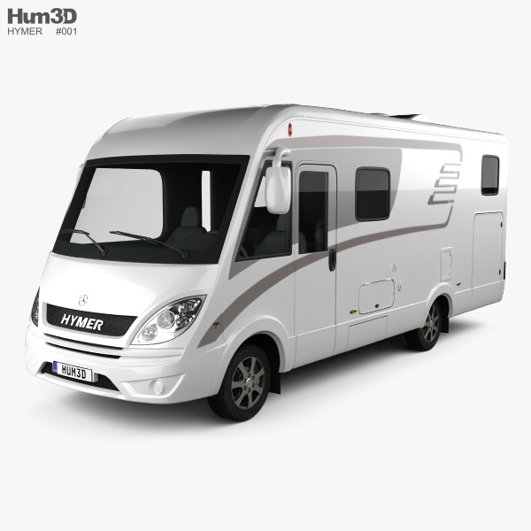 Hymer ML-I Bus 2015 3D model