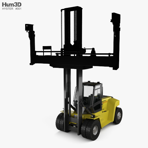 3D model of Hyster H10-12XM-12EC 2015