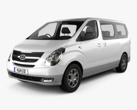 3D model of Hyundai Starex (iMax) 2010