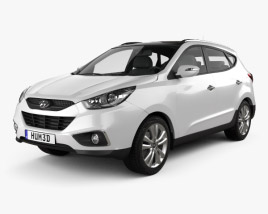 3D model of Hyundai ix35 Tucson 2011