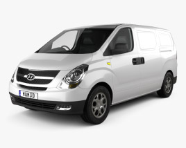 3D model of Hyundai H1 iLoad 2010