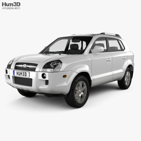 Hyundai Tucson 2006 3D model