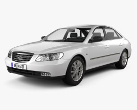 3D model of Hyundai Grandeur (Azera) 2011