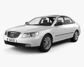 Hyundai Grandeur (Azera) 2011 3D model