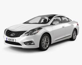 Hyundai Azera 2012 3D model