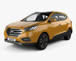 3D model of Hyundai Tucson (ix35) Korea 2013