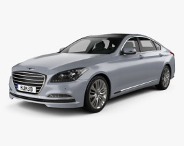 3D model of Hyundai Genesis (Rohens) 2015