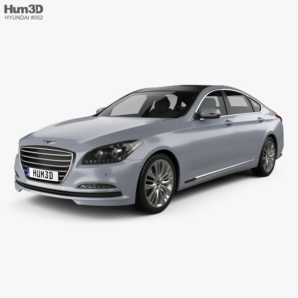 Hyundai Genesis (Rohens) 2015 3D model