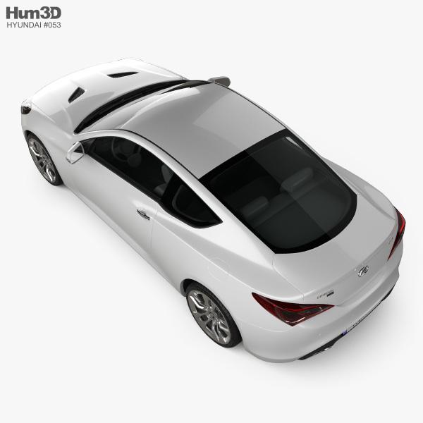 Hyundai Genesis coupe 2012 3D model