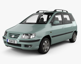 3D model of Hyundai Matrix (Lavita) 2001