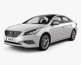 Hyundai Sonata (LF) 2015 3D model