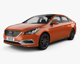 3D model of Hyundai Sonata (US) 2015