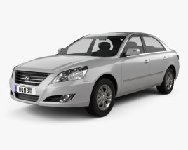 3D model of Hyundai Sonata Ling Xiang (CN) 2008