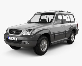 3D model of Hyundai Terracan 2004