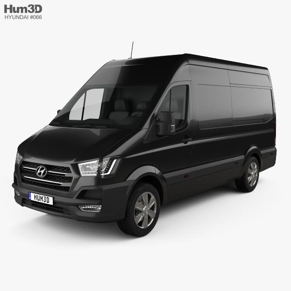 Hyundai H350 Panel Van 2015 3D model