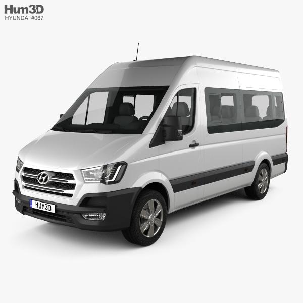 Hyundai H350 Passenger Van 2015 3D model