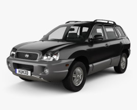 3D model of Hyundai Santa Fe (SM) 2004