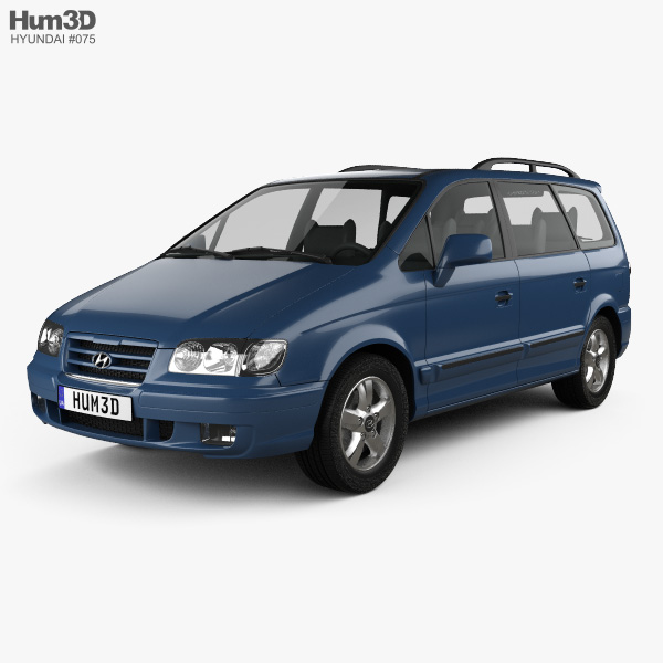 3D model of Hyundai Trajet 2004