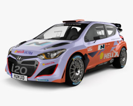 3D model of Hyundai i20 WRC 2012