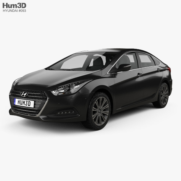 3D model of Hyundai i40 sedan 2015