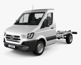 3D model of Hyundai H350 Cab Chassis 2015