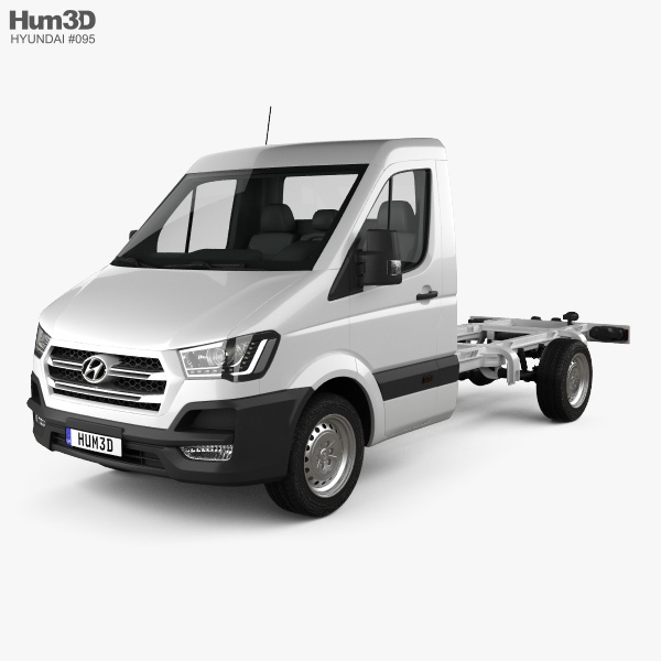 Hyundai H350 Cab Chassis 2015 3D model