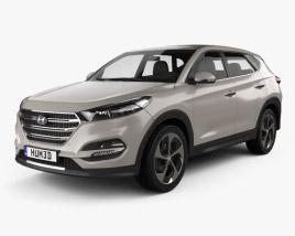 3D model of Hyundai Tucson 2016
