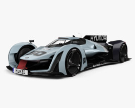3D model of Hyundai N 2025 Vision Gran Turismo
