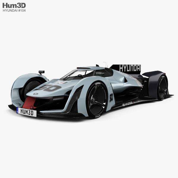 Hyundai N 2025 Vision Gran Turismo 3D-Modell