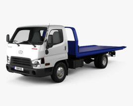 3D model of Hyundai HD65 Tow Truck 2012