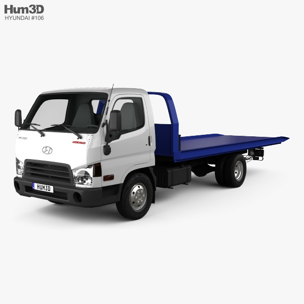 Hyundai HD65 Tow Truck 2012 3D model