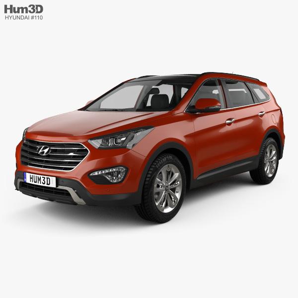Hyundai Maxcruz with HQ interior 2014 3D model