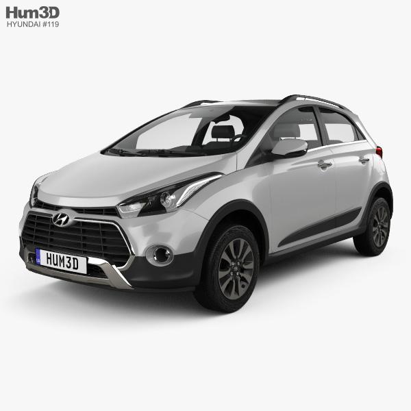 Hyundai HB20X 2015 3D model