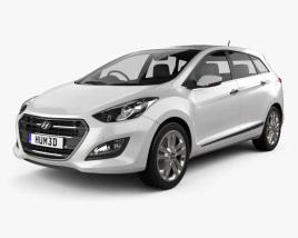 Hyundai i30 (Elantra) Wagon (UK) 2015 3D model