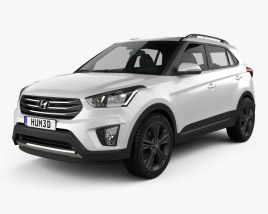 3D model of Hyundai Creta (ix25) 2016