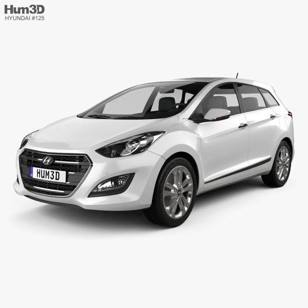 Hyundai i30 (Elantra) wagon 2015 3D model