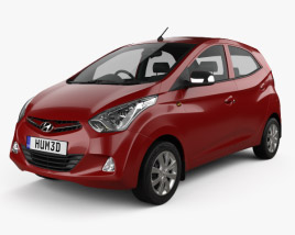 3D model of Hyundai Eon 2011