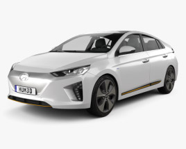 3D model of Hyundai Ioniq Electric 2016