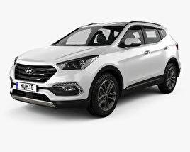 Hyundai Santa Fe (DM) 2015 3D model