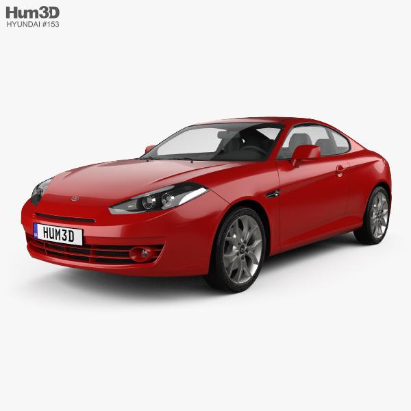 Hyundai Coupe GK 2007 3D model
