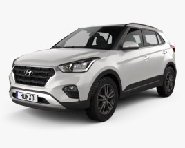 3D model of Hyundai Creta 2017