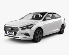 3D model of Hyundai Mistra 2017