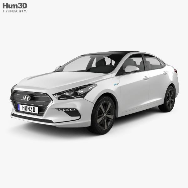 Hyundai Mistra 2017 3D model