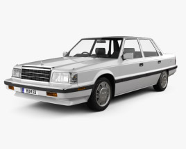 3D model of Hyundai Grandeur 1986