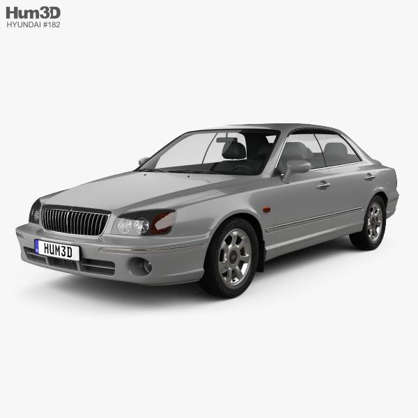 Hyundai Grandeur 1999 3D model