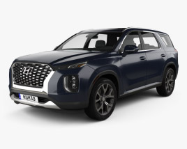 3D model of Hyundai Palisade 2020