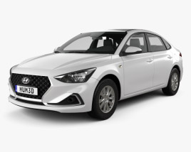 3D model of Hyundai Celesta 2018