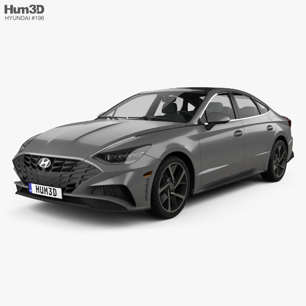 Hyundai Sonata US-spec 2019 3D model