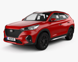 3D model of Hyundai Tucson N-line 2018