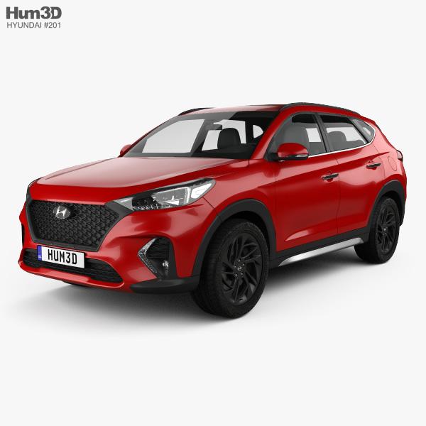 Hyundai Tucson N-line 2018 3D model
